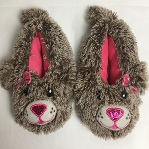 Girls Puppy Slippers